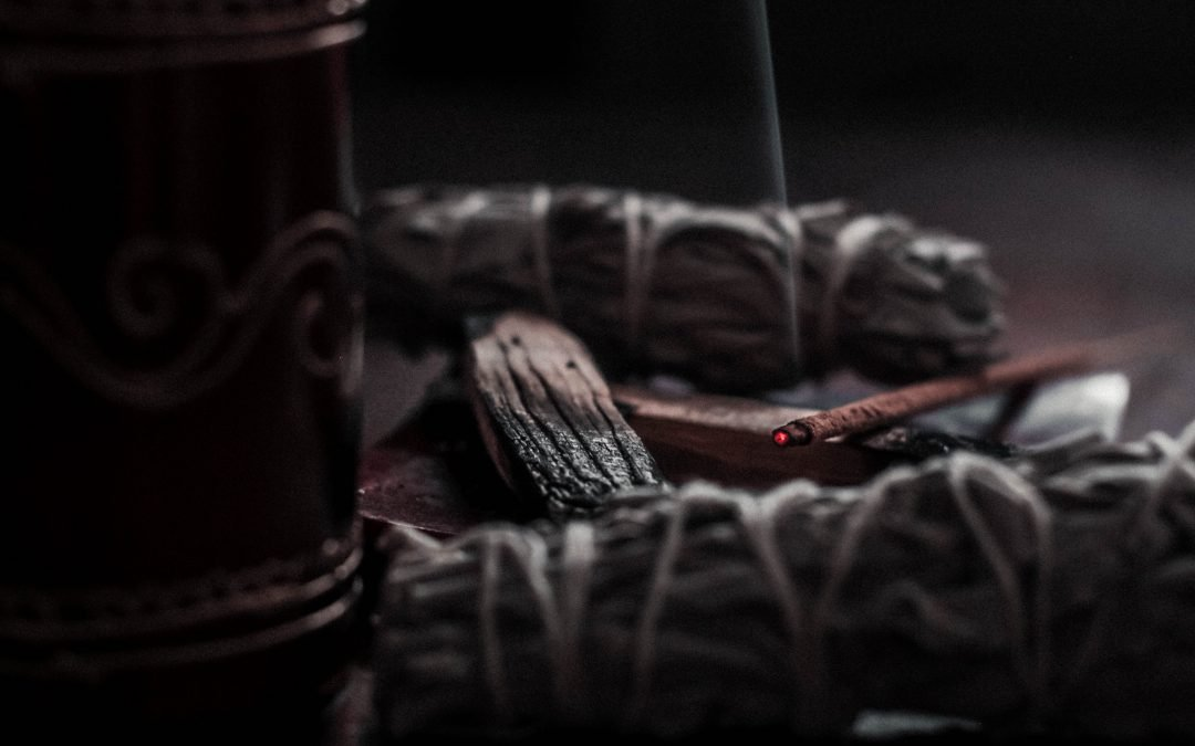 Sacred Smoke: Powerful Energy Clearing and Shielding for Yourself and Your Space